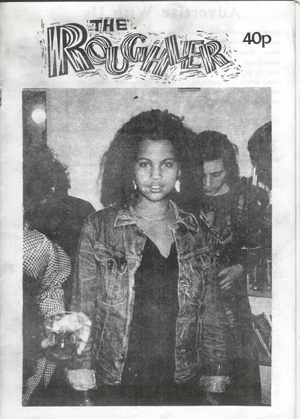 neneh Cherry on the cover of the Roughler way before she was famous.