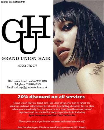 Grand Union Hair